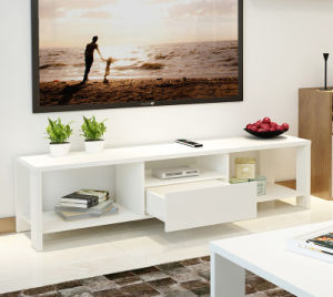 Furniture Wooden TV Cabinet Living Room Cabinet Modern Design High Quality