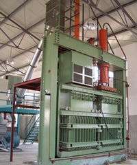Baler for Chemical Fiber for PSF Productin Line for Spinning pictures & photos