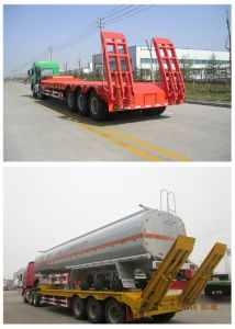 50t Low Platform Semitrailer (CTY1875) pictures & photos