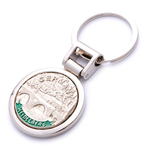 Cutom Metal Promotion Emboss Logo Souvenir Key Chain (BK52463) pictures & photos
