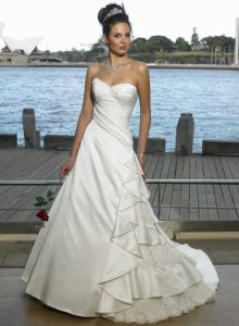 Beach Wedding Dress And Wedding Gown(Wwmg084)