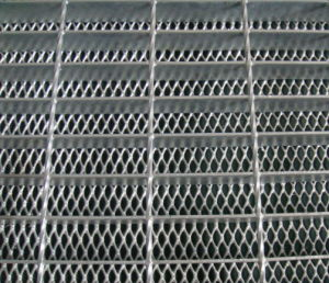 Steel Grating with Wire Mesh Below pictures & photos
