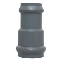 PVC Fittings with Rubber Joint for Water Supply DIN Standard pictures & photos