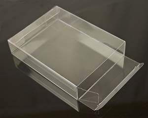 Eco -Friendly Clear PVC Packing Box