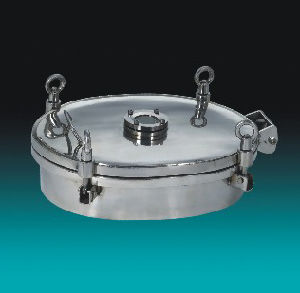 Food Grade Stainless Steel Manhole with Sight Glass (VE-03) pictures & photos