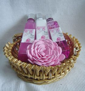 Rose Beauty Gift Bath Set (09RS004)