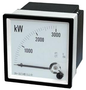 96/72/48 Wattmeter