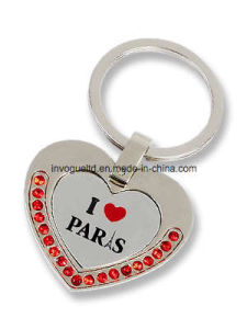 Customizing Souvenir Stones Metal Keychain pictures & photos