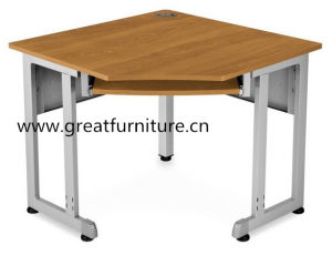 16 Gauge Steel Construction 24in Sided Freestanding Staff Office Corner Table pictures & photos