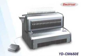 Electrical Comb Binding Machine (YD-CM650E) pictures & photos
