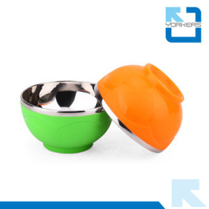 Colorful Stainless Steel Bowls and Plastic Bowls/Rice Bowl pictures & photos