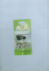 Basic Prong Snap Button Metal Material Blisder Packing pictures & photos