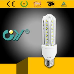New Energy-Saving LED 8W U-Type Light Bulb with Ce