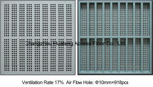600X600mm Antistatic Steel Perforated Panel pictures & photos