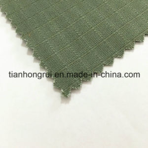 100% Cotton Fabric with Flame Retardant Coated Flocking Fabric for Working Clothes pictures & photos