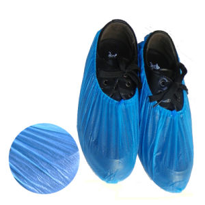 ESD Non-Woven Shoe Cover (LH-144) , CPE Disposable Shoe Cover pictures & photos