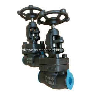 DIN Forged Carbon Steel A105 Thread End NPT Globe Valve