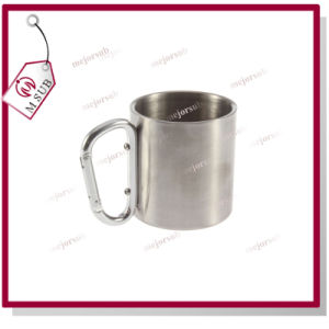 Factory Direct Selling 220ml Stainless Steel Cup Mountaineering Buckle Custom Logo pictures & photos