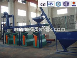 Fine Rubber Powder Pulverizer for Rubber Powder Production