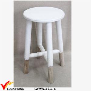 Awe Inspiring China White Shabby Chic Wooden Round Stool China Shabby Pabps2019 Chair Design Images Pabps2019Com