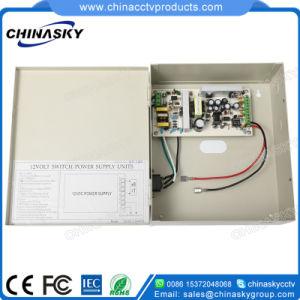 110 Volt AC to 12 Volt 12V DC 5 Amp 5A 4-Channel Power Supply for CCTV Cameras