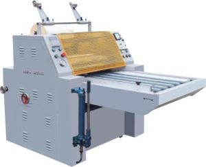 Manual Flute Laminating Machine (YDFM-1200) pictures & photos