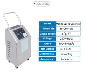 3G/H 5g/H Portable Ozone Generator for Air Purification and Sterilization pictures & photos