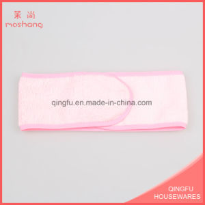 Microfiber Hair Accessories Headband with Magic Tape