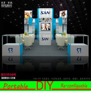 Custom Flexible Portable Aluminum Modular Exhibition Stand System pictures & photos