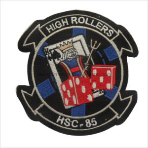 No Minimum Custom Embroidered Patches Australia with Hook & Loop Backed
