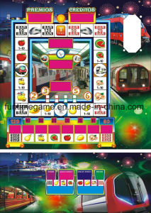 Subway Slot Machine, Coin Operated Gambling Game Machine pictures & photos