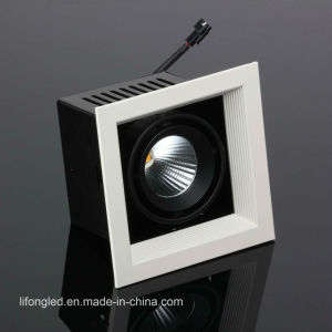 Recessed Traic Dali Dimmable Available 12W 18W LED Grille Downlights pictures & photos