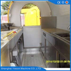 Ys-Fv300 Best Selling Food Cart Trailer Catering Truck pictures & photos