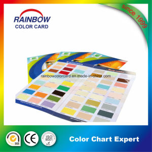 Customized Single Side Style Printing Color Chart pictures & photos