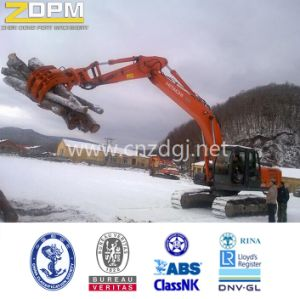 Mechical Excavator Log Large Capacity Lifting Grab Bucket