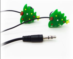 2016 Best Selling Cute Design Wired Earbuds for Christmas Gift LX-P24 pictures & photos