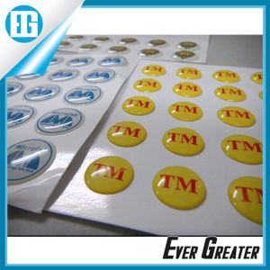 3D Waterproof Domed Stickers for Advertising pictures & photos
