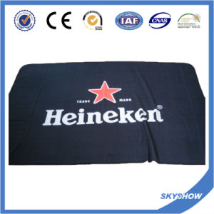 Promotional Custom Print Logo Polar Fleece Blanket (SSB0210) pictures & photos