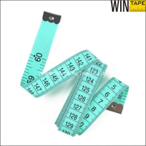 Green Promotional Gift Fiberglass PVC Tailor Measuring Tape (FT-068) pictures & photos