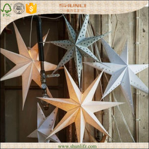 China Christmas Glitter Paper Star