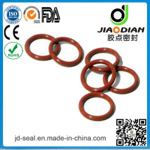 Standard Size Red Vmq 70 Duro O-Ring for Valve Industry (O-RING-0137)