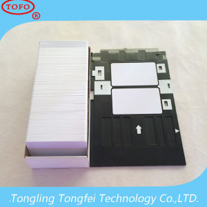 Popular & Beautiful Plastic Inkjet PVC ID Printing Card pictures & photos