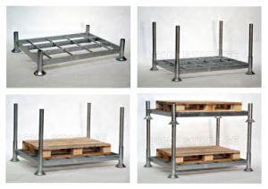 Movable and Stackable Pallet Storage Racking pictures & photos