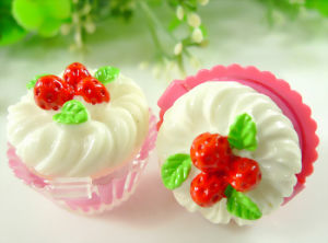 Lip Balm in Nice Cupcake Shaped Container