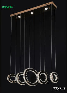 Hot Sale Modern Hotel Decorative Crystal Chandelier/Pendant Lamp