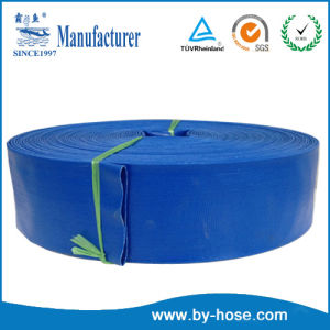 Blue PVC Water Discharge Hose pictures & photos