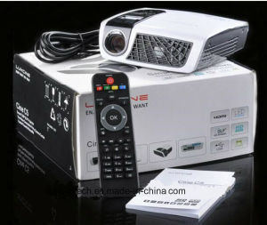Mini 3D LED Projector with 2D~3D Conversion Function