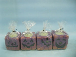 Halloween Candle Shape Ceramic Crafts (LOE2372-A5-5z)
