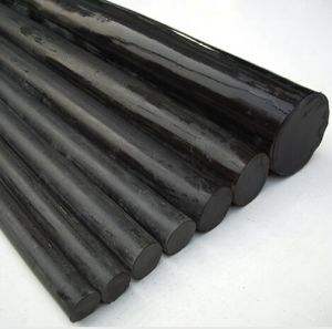 Solid Extruded Plastic PVC Round Rods pictures & photos
