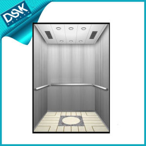 Passenger Elevator with Hairline Stainless Steel pictures & photos